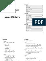 Chords Sheet