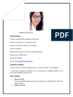 C.V.MariaGarcia Lic. Contaduria Publica
