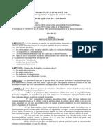 DECRET N° 74-759 DU 26 AOUT 1974 portant organisation du régime des pensions civiles