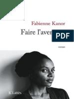 Fabienne Kanor - Faire l'aventure.epub