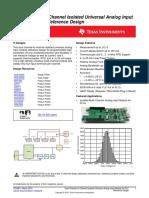 0 analog input ref design - TI - tidubi1