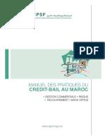 Manuel Pratiques Du Credit Bail Au Maroc