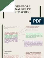 Exemplos e análises de redações do Enem