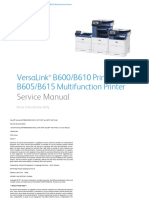 VersaLink B600/B610 Printer and B605/B615 Multifunction Printer Service Manual