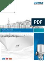 Auma marine actuator series