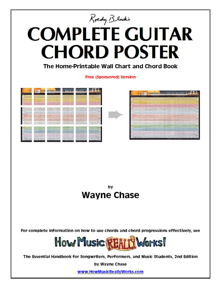 Complete Guitar Chords Elements Of Music Music Theory