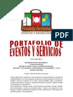 Portafolio de Eventos y Servicios 2011