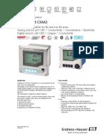 liquiline M-CM42-Información Técnica