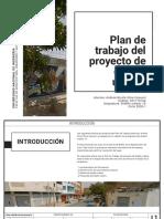 8 Critica Plan de trabajo del proyecto de diseño urbano - Andrea Silva
