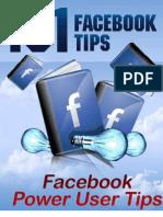 101 Face Book Tips