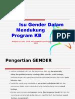 Isu Gender Dalam Mendukung Program KB 29