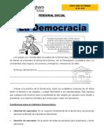 personal social DEMOCRACIA