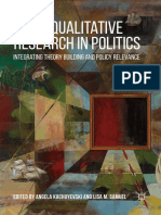 Angela Kachuyevski,Lisa M. Samuel (eds.) -  Doing Qualitative Research in Politics_ Integrating Theory Building and Policy Relevance (2018, Palgrave Macmillan) - libgen.lc