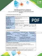 Guía de Actividades y Rúbrica de Evaluación- Tarea 4 -Identificación de Conceptos y Aplicaciones Del MIP