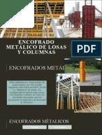 Encofrado Metálico de Losas y Columnas