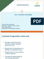 AULA DE PARASITOLOGIA BASICA 1