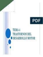 Tema 4. Trastornos del desarrollo motor