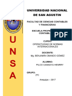 NIIF 6 EXPLORACIÓN Y EVALUACIÓN DE RECURSOS MINERALES