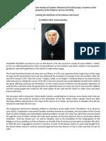 St Claudine Thévenet Vatican biography