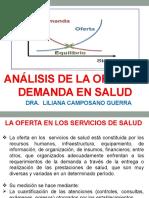 ANALISIS DE LA OFERTA Y LA DEMANDA EN SALUD