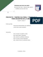 UNIVERSIDAD MAYOR DE SAN SIMÓN marco teorico especifico