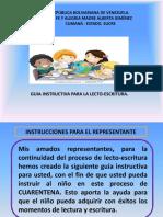guia instructiva de lectoescritura para los representantes. 2