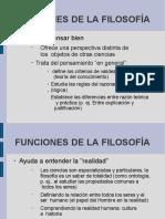 FUNCIONES FILOSOFIA 1