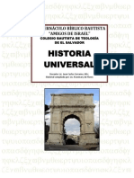 Folleto de Historia Universal Martes
