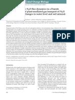 Jørgensen, Struwe, Elberling - 2012 - Temporal trends in N2O flux dynamics in a Danish wetland - effects of plant-mediated gas transpor