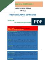 T Construccion I - HABILITACION URBANA - PARTE 2 - ING CACHAY