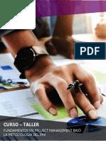 Brochure - Curso Project Management