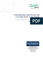 Communicating About Poverty and Low-Wage Work