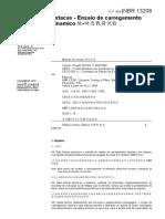 NBR 13208 - Estacas - Ensaio de carregamento dinamico