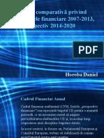 Analiză comparativă privind perspectivele financiare 2007-2013,.pptx