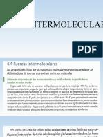 Fuerzas intermolleculares