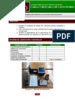 GUÍA 10_ CARGA Y DESCARGA DE CAPACITORES_2020