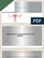 Toma de muestras en ginecología