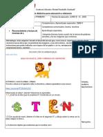 GUIA #4 de lenguaje 1° PDF