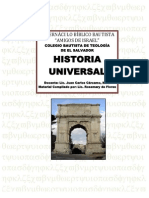 Folleto de Historia Universal Grupo Sabatino