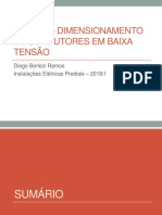 aula 12 - dimensionamento de condutores - 2018_I