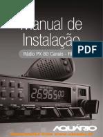 Manual Aquario RP80 V6 BR