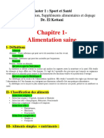 nutrition cours 1