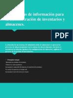 6.4 SIS INF ADMON INVENTARIOS Y ALMACEN.