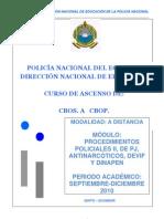 Modulo 4 Procedimientos Policiales II 2010
