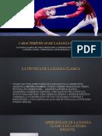 Caracteristicas y técnicas del ballet