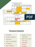 TRANSFORMER CONSTRUCTION