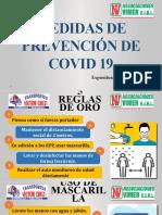 MEDIDAS DE PREVENCIÓN DE COVID 19