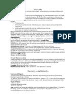 Cirrosis biliar e hipertension portal