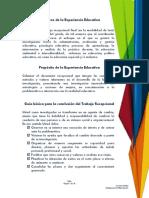 Programa de Trabajo SEMINARIO DE TESIS 3-2