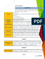 Programa de Trabajo SEMINARIO DE TESIS 3-5